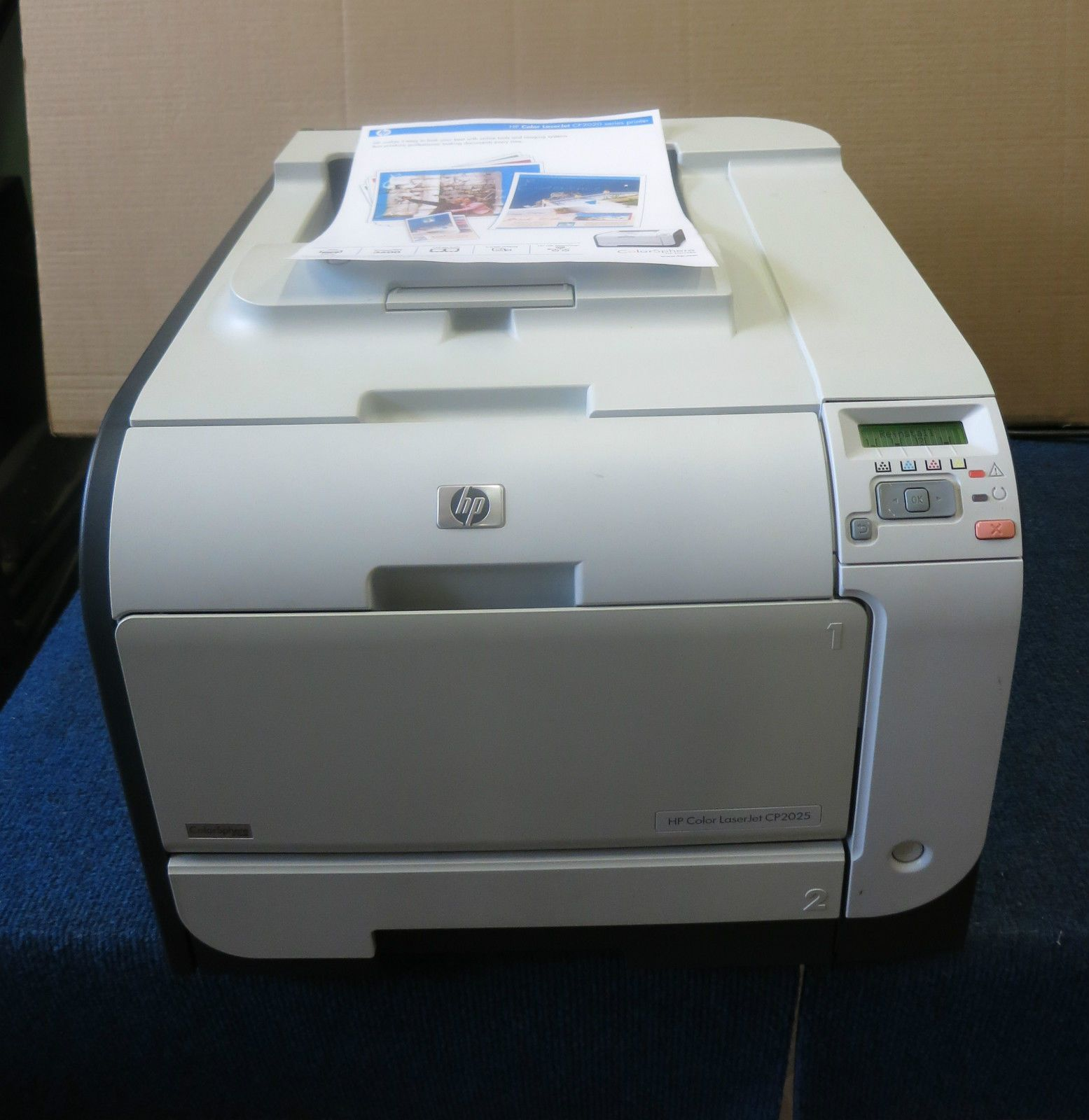 Hp Color Laserjet Cp2025 Driver Windows 7